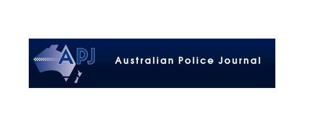 A logo of the Australian Police Journal