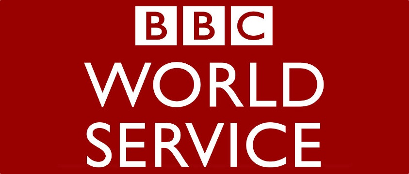 A logo of the bbc world service