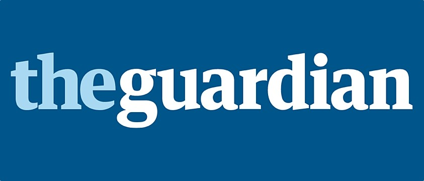logo The Guardian with Australian colours