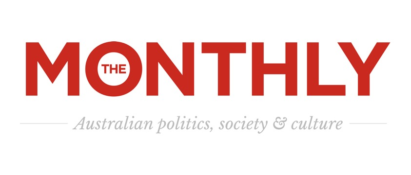 logo for The Monthly magazine